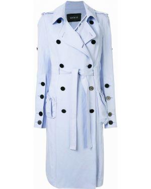 Синее пальто Kitx