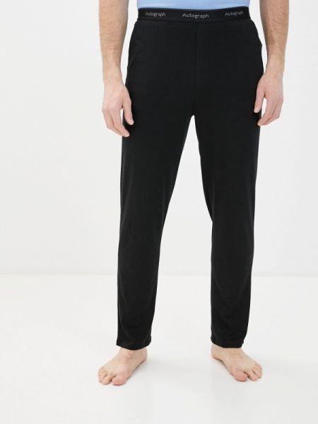 Домашние черные брюки Marks & Spencer