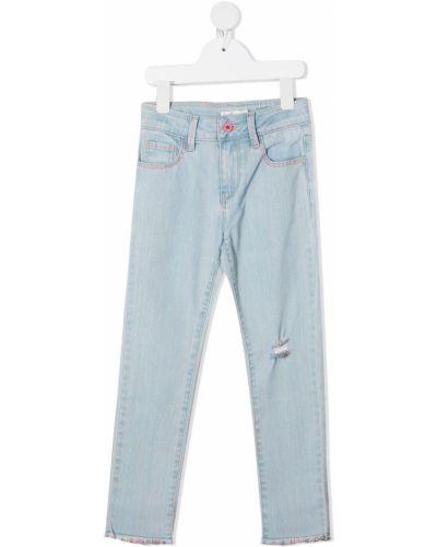 Klasyczne niebieskie jeansy bawełniane Billieblush