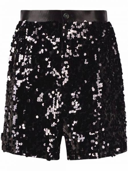 Нейлоновые черные шорты с карманами Junya Watanabe