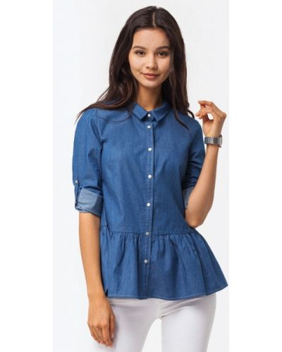 Джинсовая рубашка Vilatte