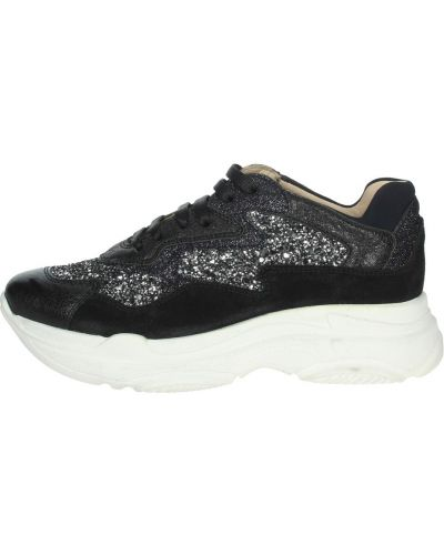 Czarne sneakersy Florens