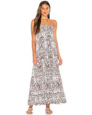 Платье макси с декольте двубортное Maaji