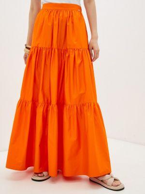 Джинсовая оранжевая юбка Guess Jeans