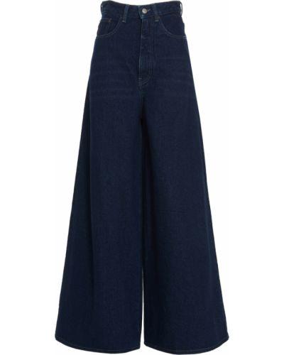 Mom jeans - niebieskie Mm6 Maison Margiela