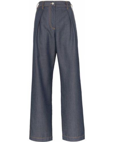 Зауженные джинсы-скинни на пуговицах с пайетками Wright Le Chapelain