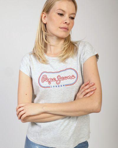 Хлопковая футболка Pepe Jeans London