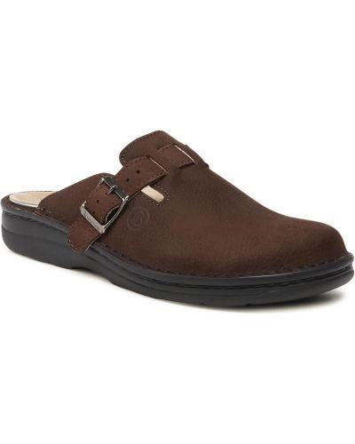 Brązowe sandały casual Berkemann