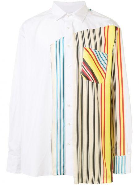 Прямая рубашка с воротником на пуговицах из вискозы Botter