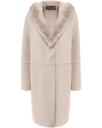 Пальто из кролика шерстяное D.exterior