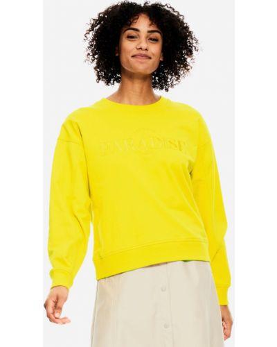 Джинсовый свитшот - желтый Garcia Jeans