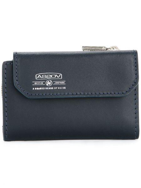 Кожаный синий кошелек As2ov