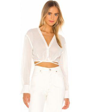 Bluzka elegancka - biała L'academie