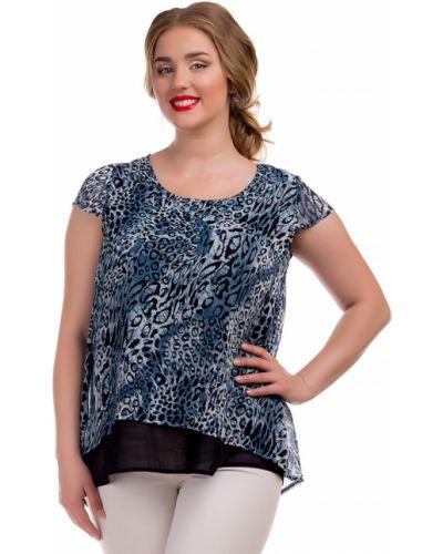 Шифоновая блузка - черная Liza Fashion