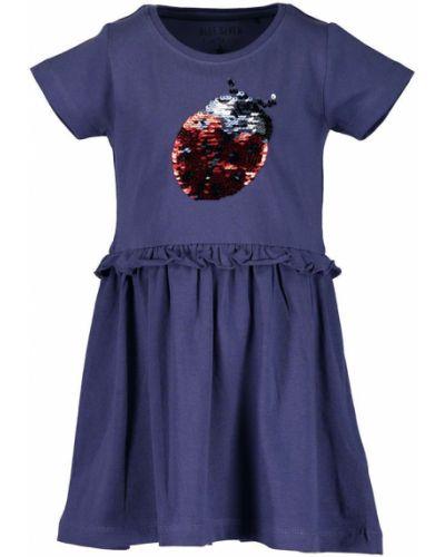 Платье с рукавами короткое хлопковое Blue Seven