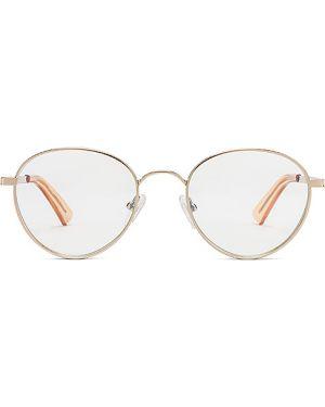 Złote niebieskie okulary The Book Club
