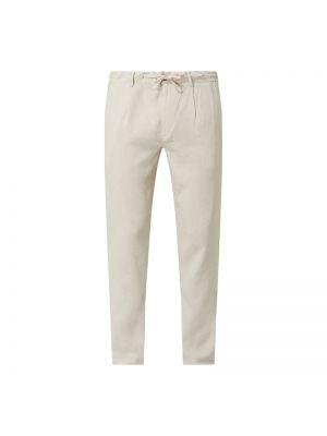 Beżowe spodnie bawełniane Anerkjendt