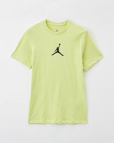 Желтая футболка Jordan