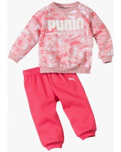 Костюм розовый Puma