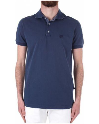 Niebieska koszulka krótki rękaw Vilebrequin