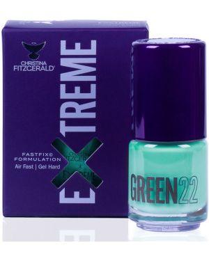 Лак для волос зеленый кожаный Christina Fitzgerald