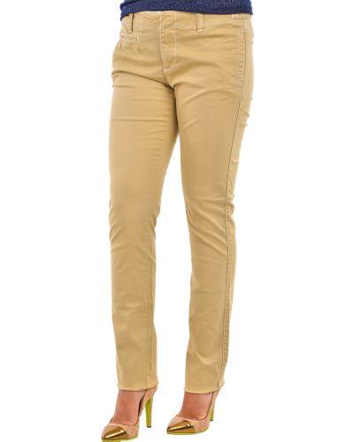 Бежевые брюки хлопковые Ralph Lauren