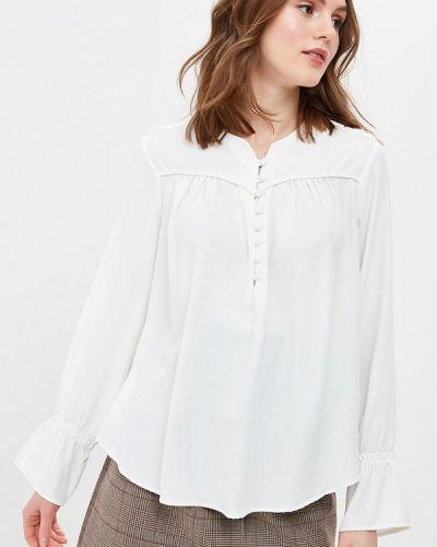Блузка с длинным рукавом белая Piazza Italia