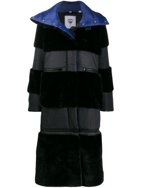 Черное пальто Rossignol