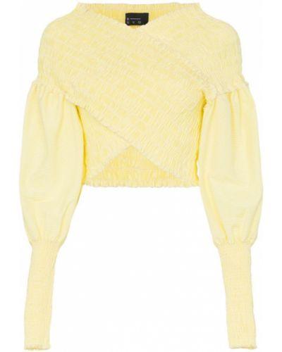 Блузка желтый N Duo