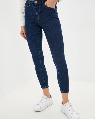 Зауженные джинсы - синие G&g