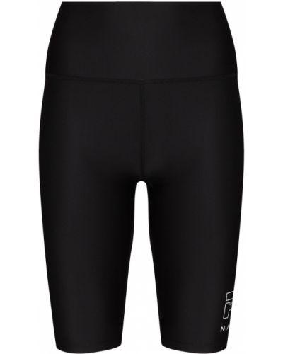 Черные брюки с завышенной талией P.e Nation