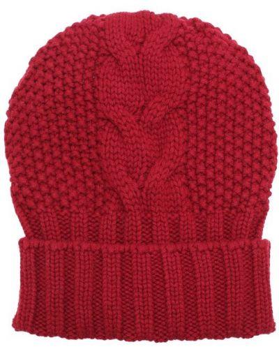 Вязаная шапка шерстяная с узором Kashja` Cashmere