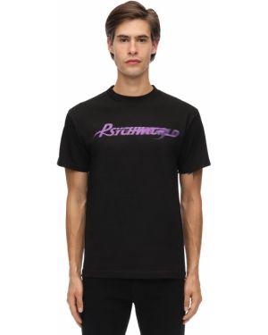 Czarna koszula bawełniana Psychworld