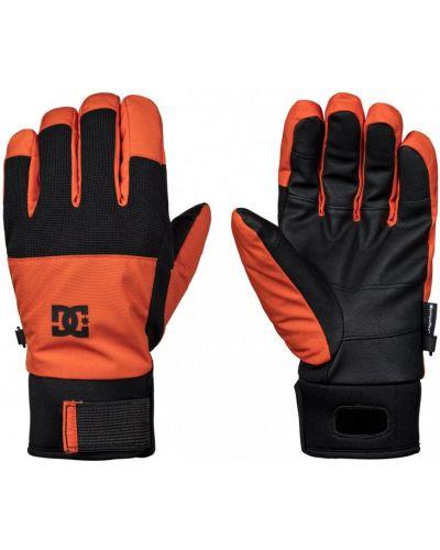 Оранжевые перчатки сноубордические Dc Shoes