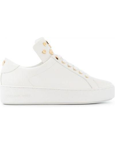 Белые кроссовки Michael Michael Kors