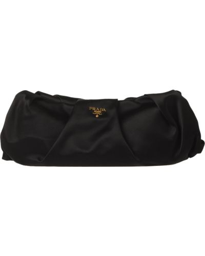 Клатч черный Prada