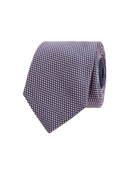 Krawat z jedwabiu - różowy Jake*s