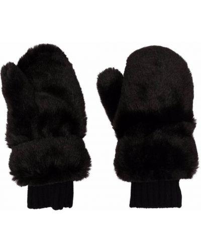 Черные кашемировые варежки Givenchy