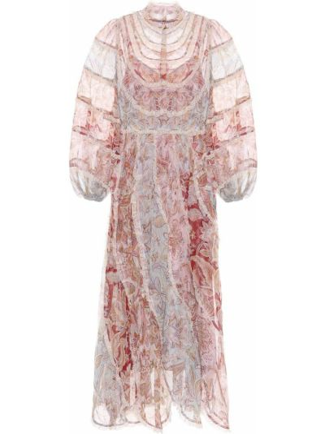Платье миди Zimmermann