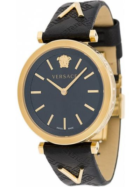 Zegarek szary czarny Versace