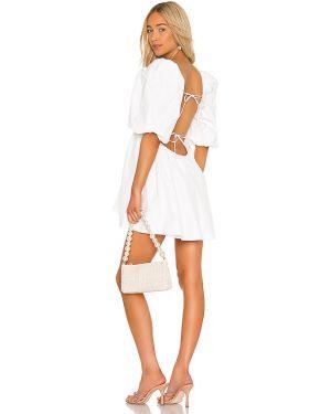 Sukienka mini z rękawami zasznurować Lovers + Friends
