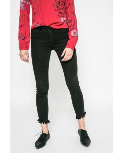 Черные джинсы-скинни Vila