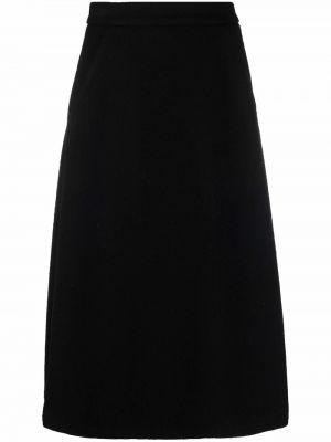 Шерстяная юбка - черная SociÉtÉ Anonyme