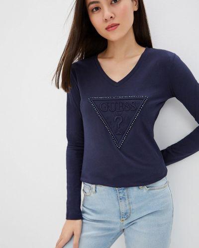Джинсы mom синие Guess Jeans