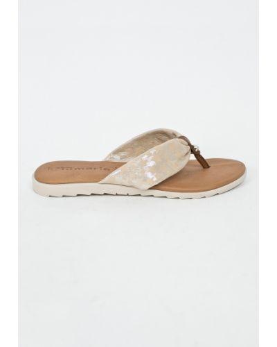 Бежевые сандалии Tamaris