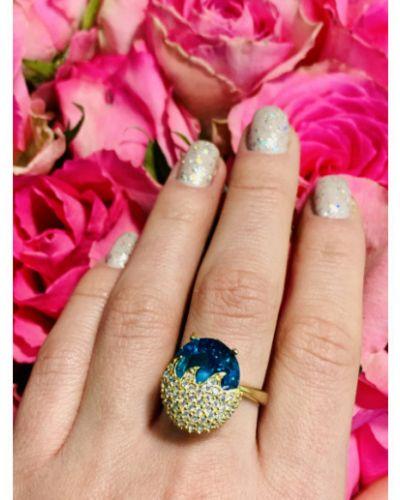 Серебряное кольцо с камнями Sky Jewelry
