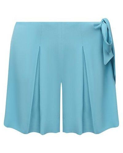 Шелковые шорты - синие Fisico