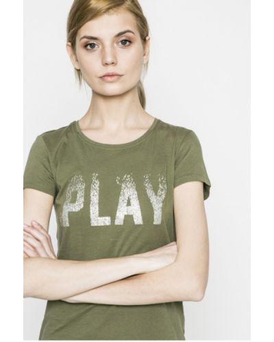 Футболка облегающая зеленый Only Play