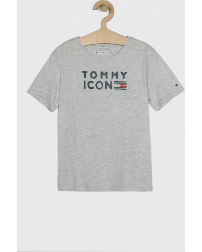 Футболка серая светло-серый Tommy Hilfiger