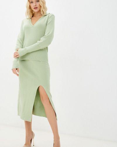 Вязаный костюм - зеленый Fresh Cotton